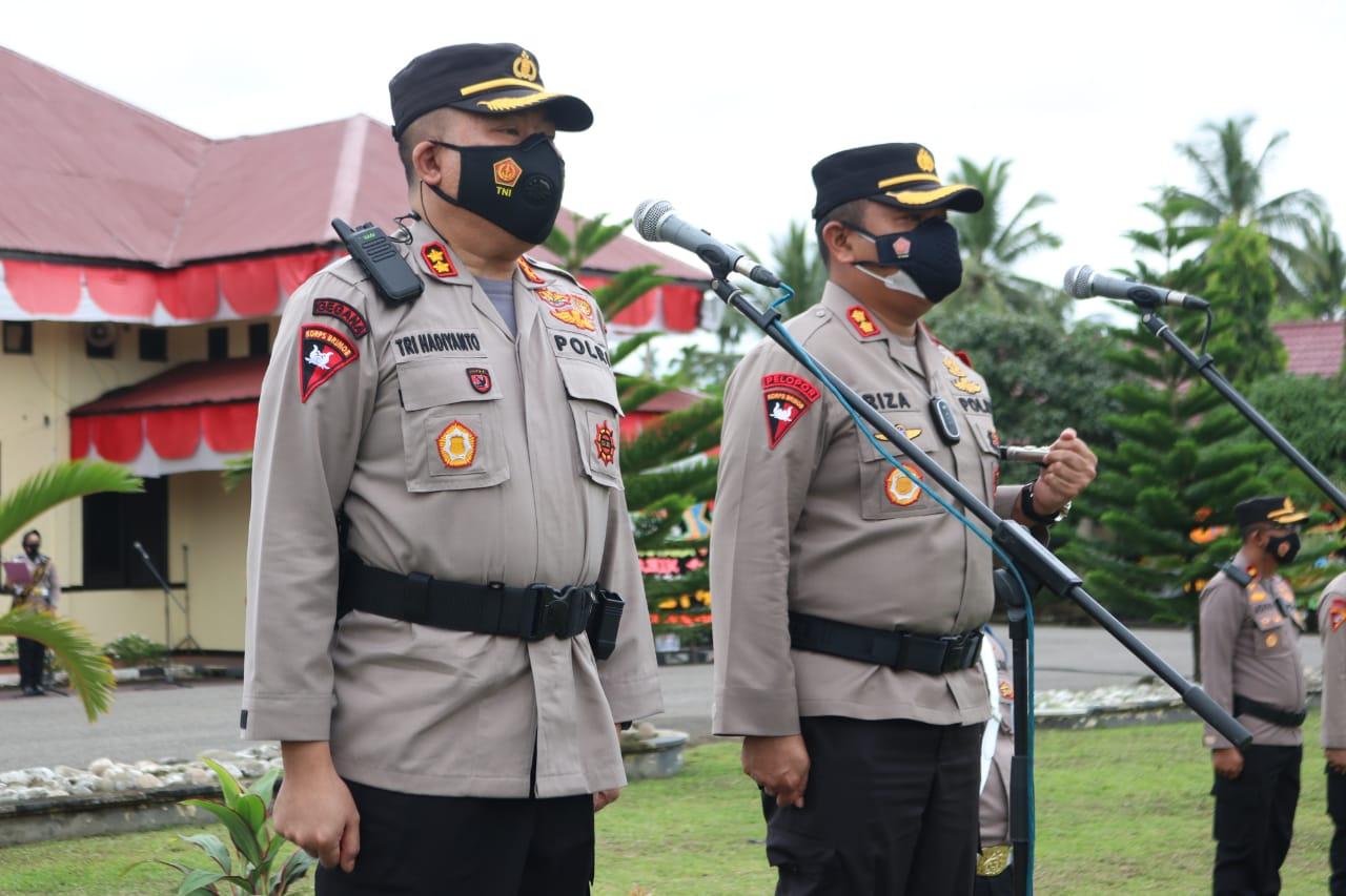 """Lepas Sambut Kapolres Aceh Utara """"Yang pergi meninggalkan kesan,yang datang membawa harapan"""""""