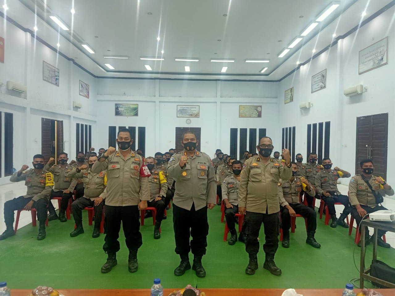 Bhabinkamtibmas jajaran Polres Aceh Utara ikuti Harkatpuan