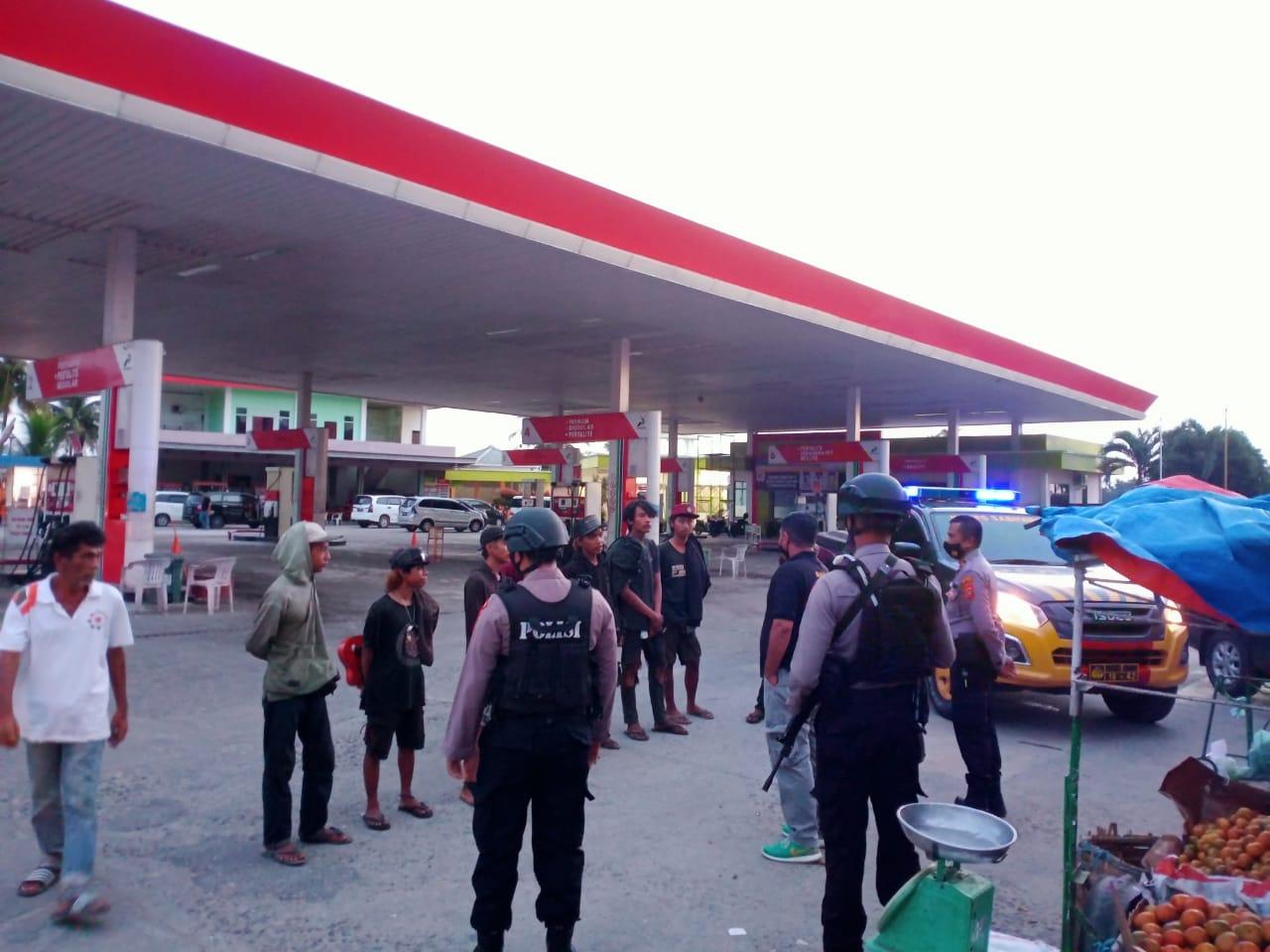 Terima laporan masyarakat, Sat Sabhara polres Aceh Utara sigap tertibkan Anak punk
